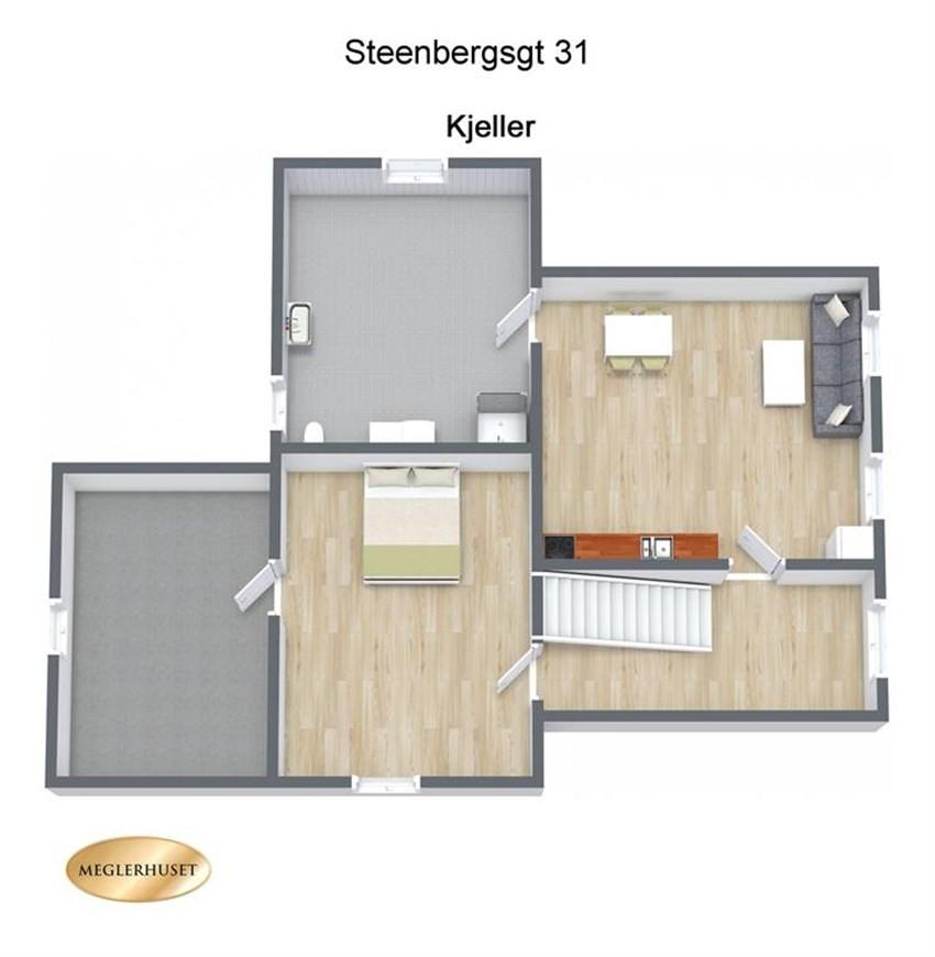 Hamar/disen   enebolig med 9 soverom i et populært område